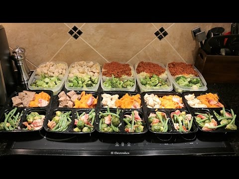 Bulking Meal Prep For Building Muscle - 4,400 Calories A Day: Prep And Pack