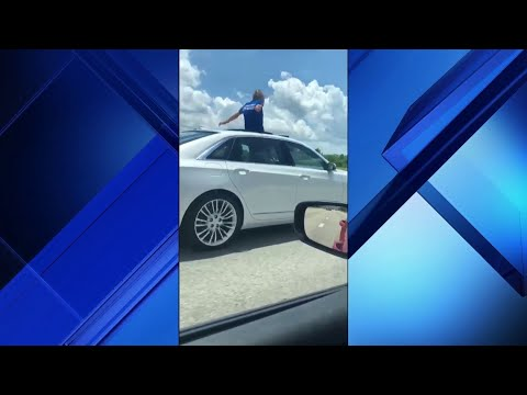 DJ Jaime Ferreira aka Dirty Elbows - #ONLYINFLORIDA Pt.1 - Florida Man Driving While Standing In The Sunroof.