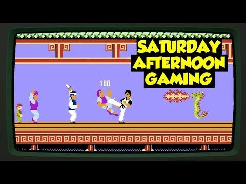 Kung Fu (NES) (feat. Jordan) - Jackie Chan's 1985 NES Premier...? - Saturday Afternoon Gaming