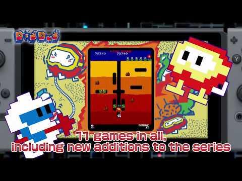NAMCO MUSEUM - Launch Trailer | Nintendo Switch