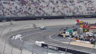 Jimmie Johnson Burnout after 2017 Food City 500 Win at Bristol