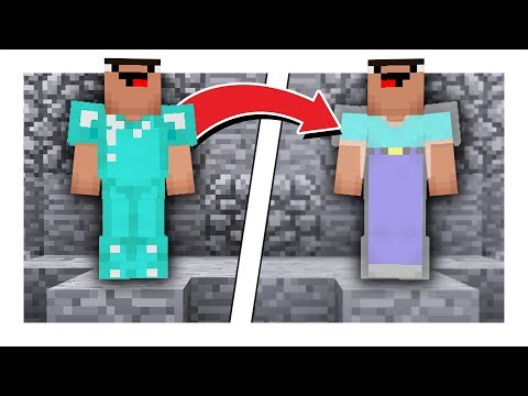 100% INVISIBLE DIAMOND ARMOR CHALLENGE!! (Minecraft Bed Wars)