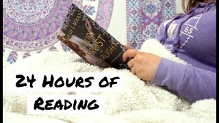 Reading for 24 Hours Straight AGAIN | Reading Vlog #002
