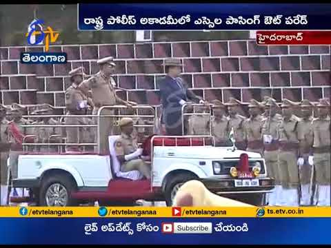 SI Passing Out Parade Held  at Telangana State Police Academy  at Hyderabad