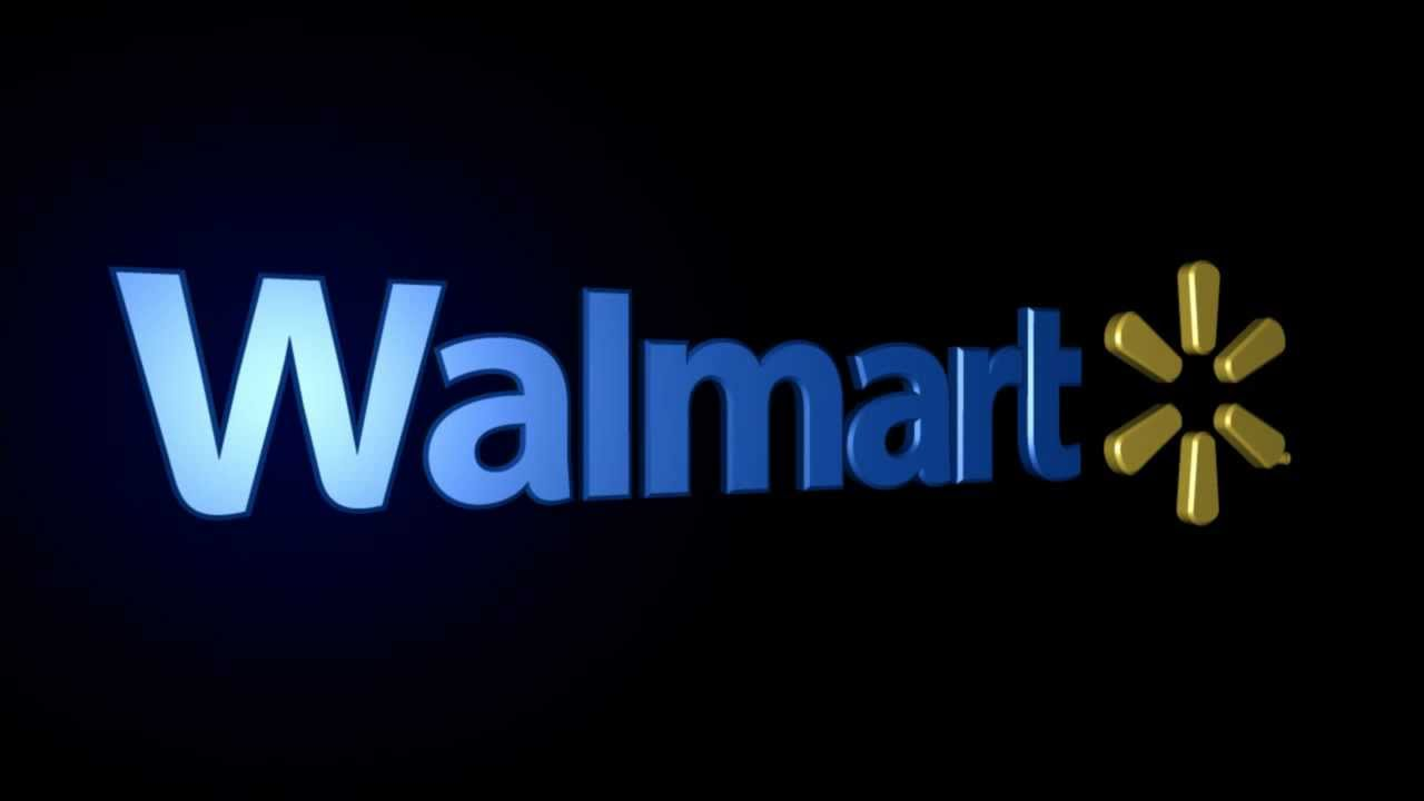Walmart Logo 3D - YouTube