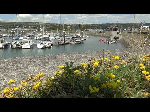 Burry Port Harbour & Beach - Summer 2014
