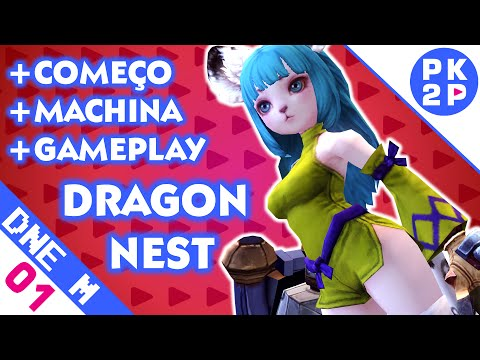 Dragon Nest (EU) Melhor Ação em um MMO! ► Gameplay PT BR com Machina