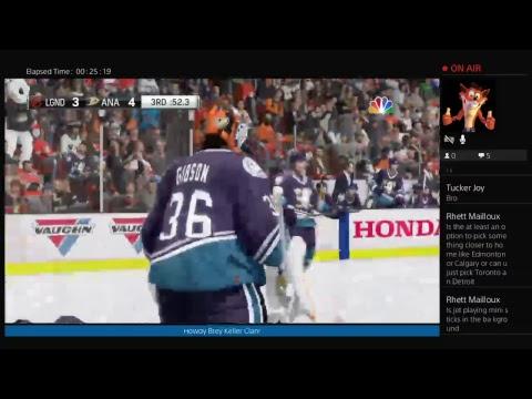 NHL 18 Custom Legends play: Anaheim Ducks
