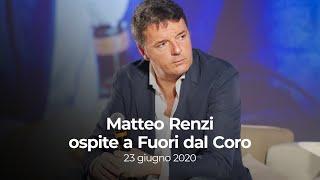 Matteo Renzi Ospite A Fuori Dal Coro