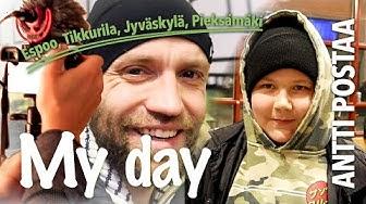MY DAY | Koulutuspäivä Jyväskylässä ja keskustelu parhaista tubettajista! Feat. Pieksämäki