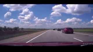 Авария на АД  Кропоткин Краснодар 11. 05. 2015 г. 12:30