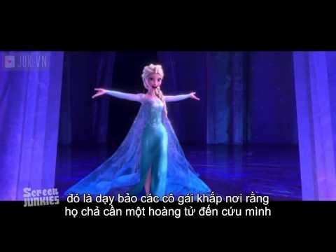 """Đánh giá dìm hàng """"Nữ hoàng băng giá""""- (Honest Trailers Frozen)"""