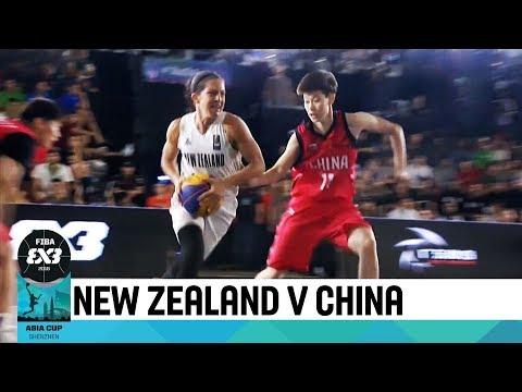 New Zealand vs China - Final - Women's Full Game - FIBA 3x3 Asia Cup 2018