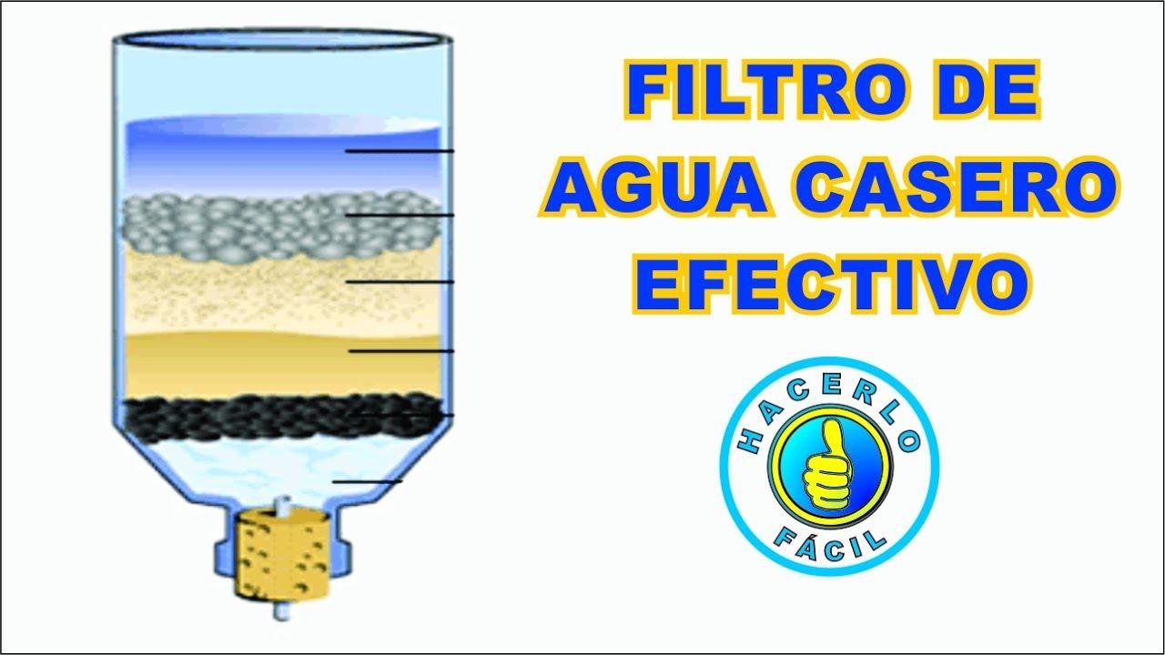 Filtro de agua c mo hacer un filtro de agua casero for Como construir una pileta de agua