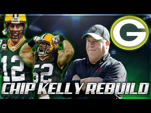 Madden 18 Rebuilding: The Green Bay Packers | Chip Kelly Rebuilds | LOVERS UNITE!