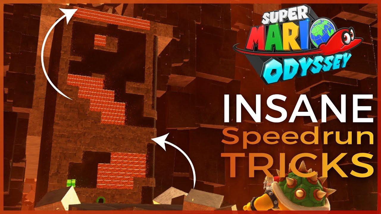 The Craziest Tricks in Super Mario Odyssey Speedrunning