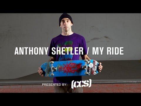 My Ride Anthony Shetler - TransWorld SKATEboarding