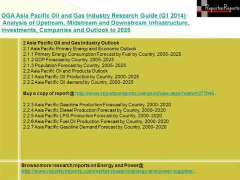 OGA Asia Pacific Oil and Gas Market 2025 Forecasts