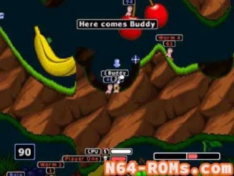 worms armageddon n64 rom