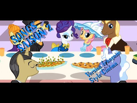 [Chansons] My Little Pony Les Amies C'est Magique - Saison 2 (Style cinéma) poster