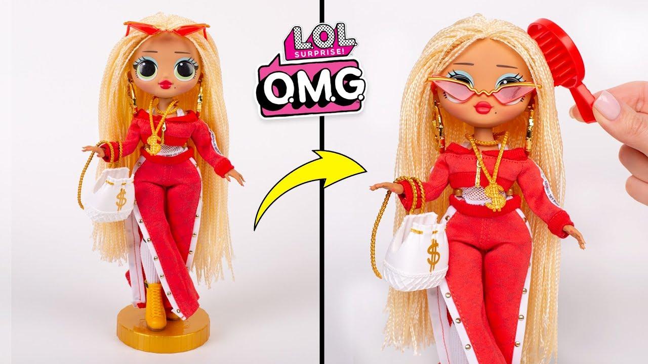 Самая модная кукла ЛОЛ   Распаковка модных девчонок - YouTube