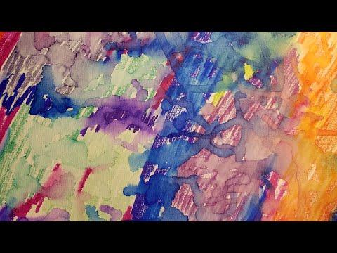 Creda Day 3: Sharpie Canvas Art
