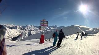 Reportaje de la Estación de Esquí de Les Sybelles (Alpes Franceses)