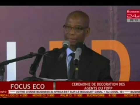 Business 24   Focus Eco - Ceremonie de decoration des agents du FDFP