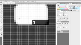 Photoshop Pixel-Perfection: Snap to Pixel Grid