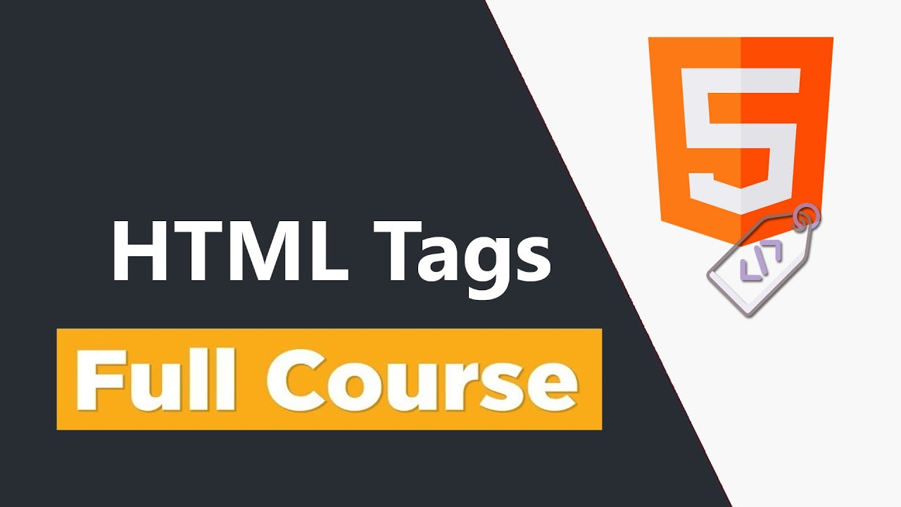 HTML Crash Course For Absolute Beginner