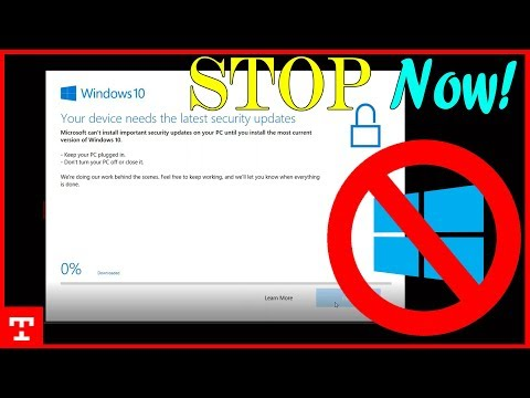 Windows 10 Update Assistant Off (Disable) How to Stop Windows 10 update assistant 2018