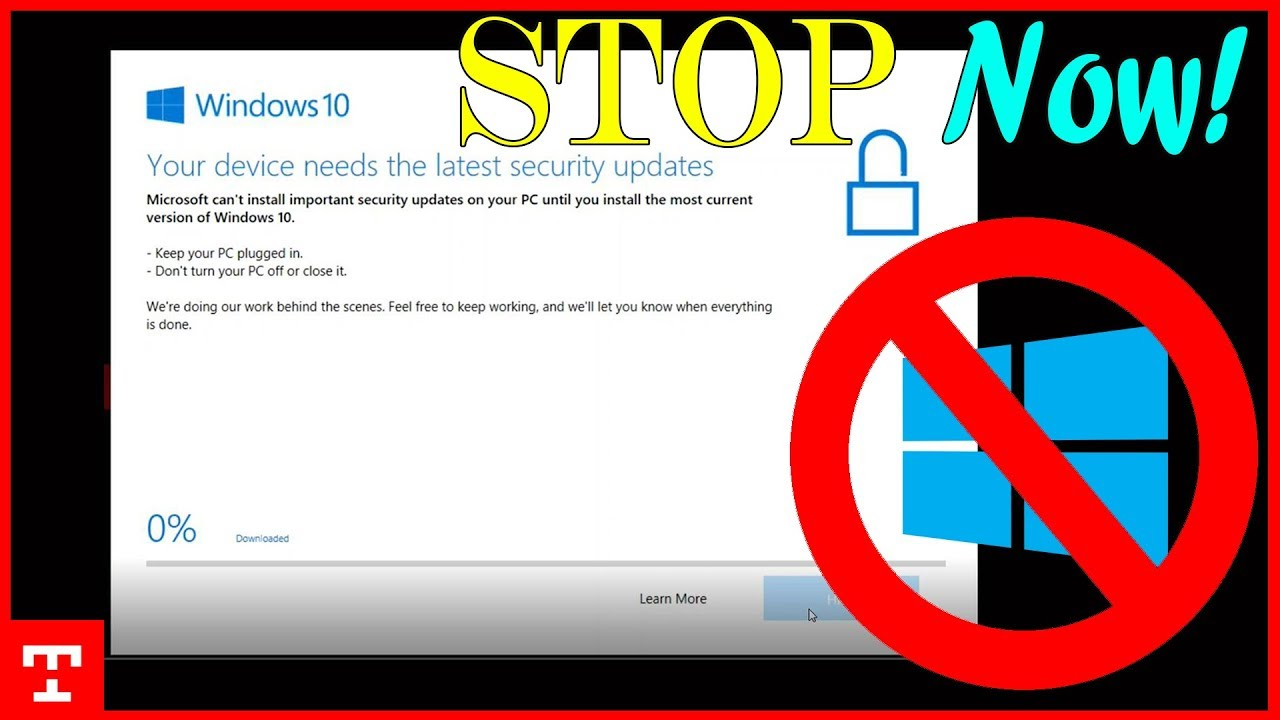 windows 10 stop downloading updates automatically