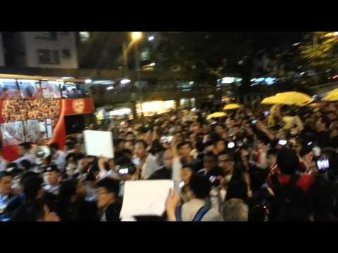 CY Leung's Last Public Appearance