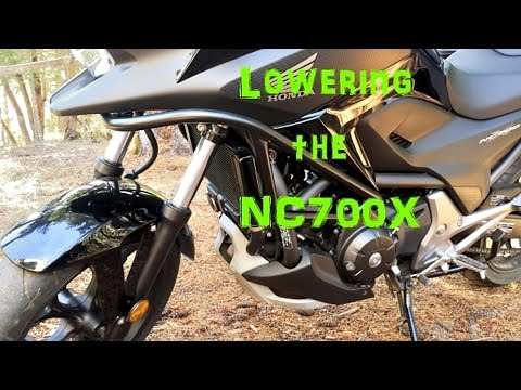 Lowering The Nc700x Youtube