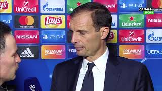 Wywiad z Massimiliano Allegrim po meczu Juventus - Barcelona (0:0)    Liga Mistrzów