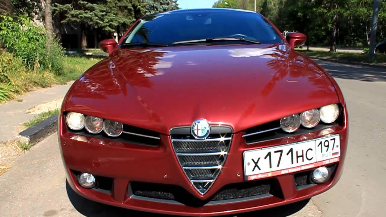 Car Wrap Images Wallpaper Alfa Romeo Brera 3 2 Q4 Rosso Rubino Youtube