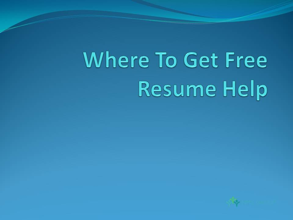 Where To Get Free Resume Help Youtube
