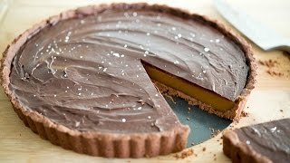 Salted Caramel Chocolate Ganache Tart Recipe