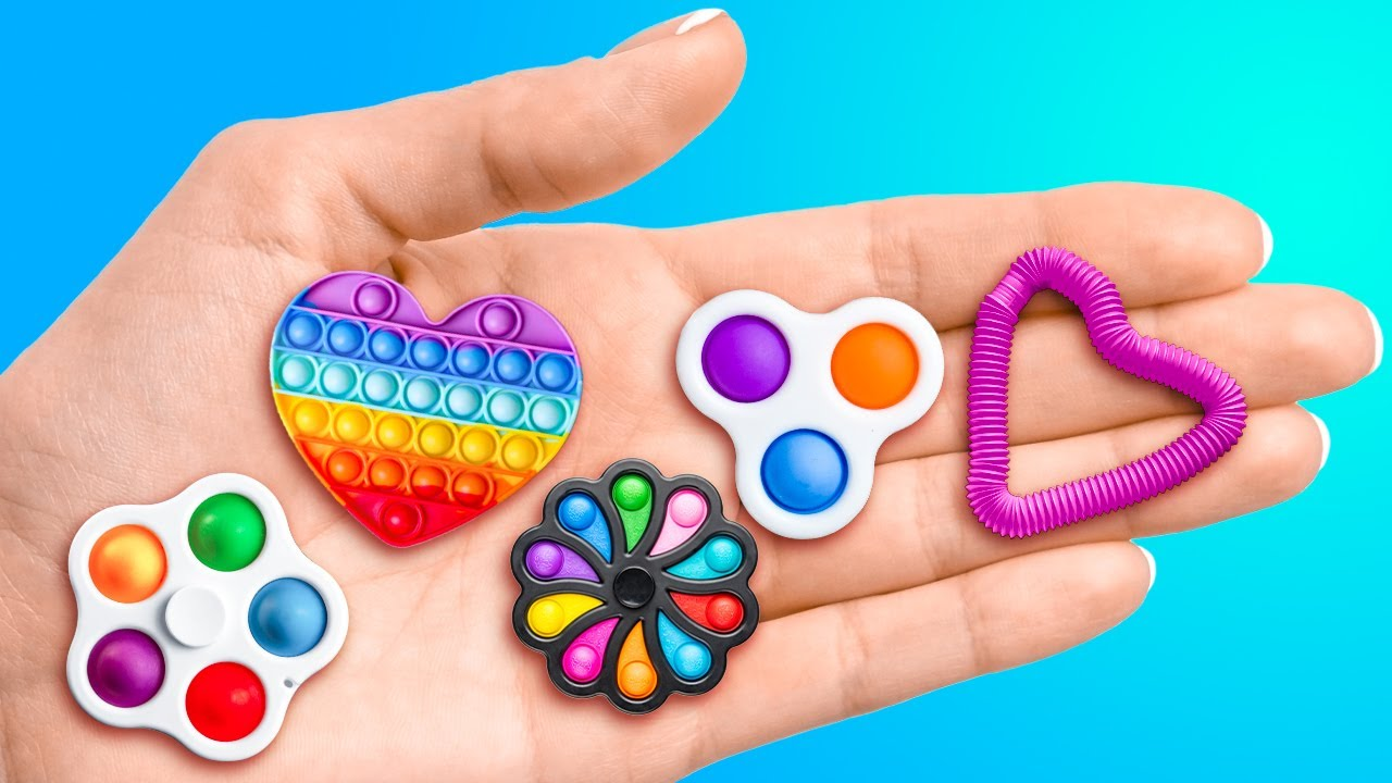 FIDGET TOYS COMPILATION    Colorful And Funny POP IT Ideas For Any Situation
