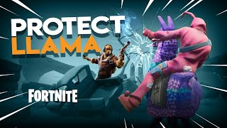 PROTECT the LLAMA | Fortnite Battle Royale *NEW* Gamemode