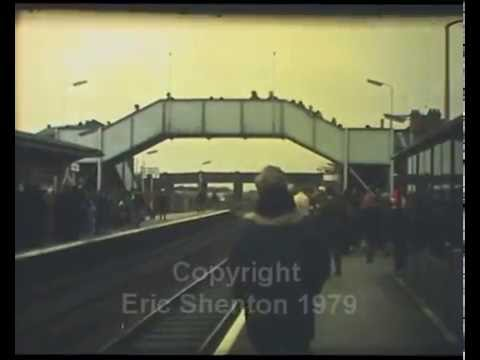 Earlestown Station Exhibition Opening 1980