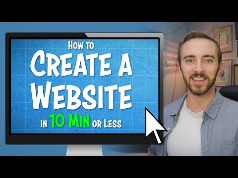 How to Make a Website in 10 Minutes! | Quick Tutorial for Complete Beginners (Using WordPress)
