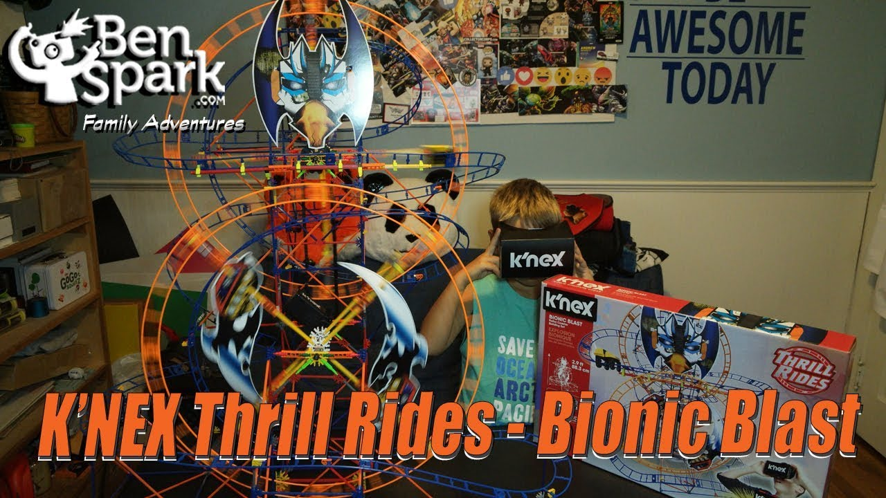 Review: K\'NEX Thrill Rides - Bionic Blast and the Ride It VR App ...