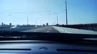Ура,мост в Днепропетровске открыт!