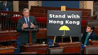 """11/28 【时事大家谈】(重播)话题:香港人权法案过关,美国对北京的""""大棒""""来了?"""