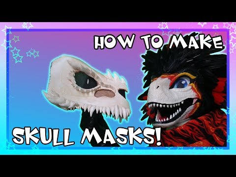 [HOW TO MAKE] Skull Mask Tutorial thumbnail