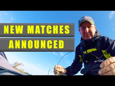 NEW Match Fishing Matches Announced - Match Fishing Monday