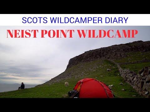Skye Neist point lighthouse , wildcamp 87