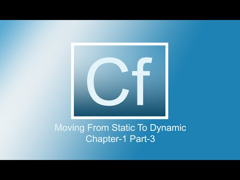 Adobe Coldfusion 11 Tutorials | Chap-1 | Part-3
