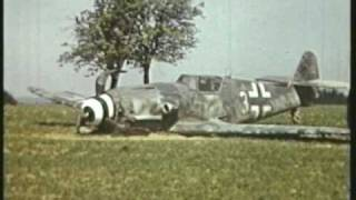 CRASHED ME 109,VERY RARE VIDEO WW2, FULL VIDEO CLIP VERSION,1944/45